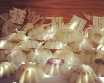 20 Wedding Favours Candle Melts - Soy Wax Tarts - Pure Essential Oils
