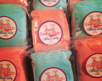 Personalized to any theme Cotton Candy party favors