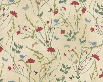 A Field Guide by Janet Clare for Moda Floral Meadow in Natural