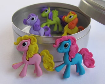 Pony Push Pins or Magnets
