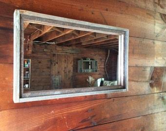 Rustic Mirror