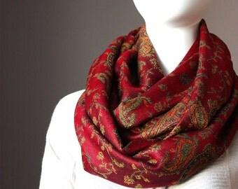Merlot pashmina Scarf , infinity  scarves