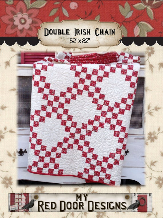 Quilt Pattern For Double Irish Chain : Double Irish Chain PDF quilt pattern