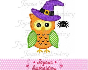 Instant Download Halloween Owl Applique Machine Embroidery Design NO:1370
