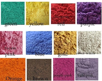 50g Mica Powder Soap Dye Soap Colorant, Powder Pigment, Cosmetic grade