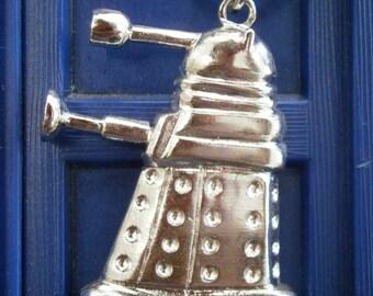 Silver Dalek Pendant
