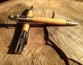 Bourbon Oak Bolt Action Tech Stylus Pen, your choice of hardware and flavor bourbon -- made from a real Bourbon Barrel