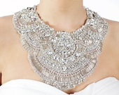 Astaire - Luxury Crystal Couture Embroidered Neck Plate