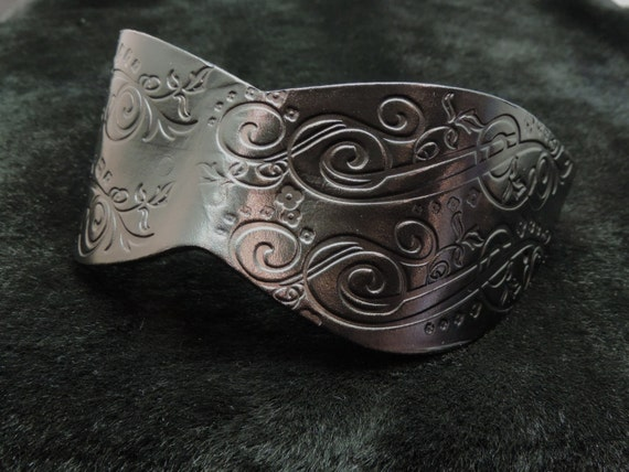 Handmade Molded Embossed Leather Blindfold Masquerade Mask