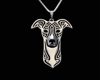 Whippet jewelry - sterling silver