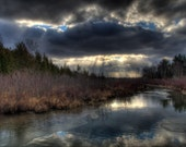River Photo, Leelanau Photography, Pure Michigan Photograph, Traverse City, Michigan, Art, Old Mission, Nature