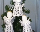 Crochet Angel, Ornament,