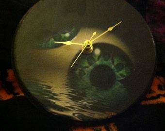 Tool Eye Clock