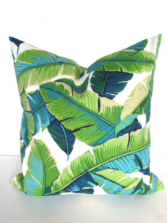 GREEN PILLOWS Turquoise Pillows Lime Green Outdoor Pillow