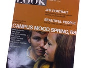 Vintage LOOK Magazine 1968 CAMPUS Mood Spring Great condition