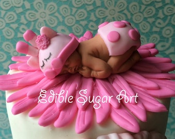 GIRAFFE BABY SHOWER Cake Topper Fondant Baby Safari Cake Decorations Fondnat cupcake giraffe