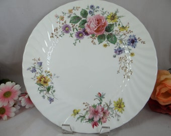 Vintage Royal Doulton English Bone China Arcadia Dinner Plate -  10 Available
