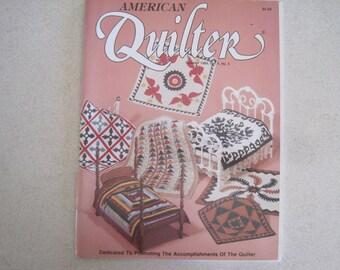American Quilter Magazine Summer 1989 Vol. V No. 2