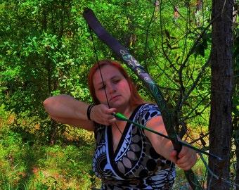 Wood Elf Recurve Bow