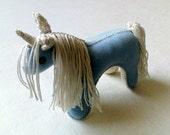 Soft Toy Unicorn, Waldorf Toy, Stuffed Animal Baby Toy
