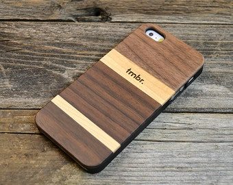 Real Wood iPhone 5/5S case, Real Wooden iPhone 5 Case Free Shipping in the US - MXW5
