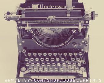 Fine Art Photograph, Typewriter Photograph, Vintage Typewriter Photography