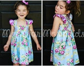 Molly Top, Tunic and Dress PDF Pattern instant download size 6mnth-14years