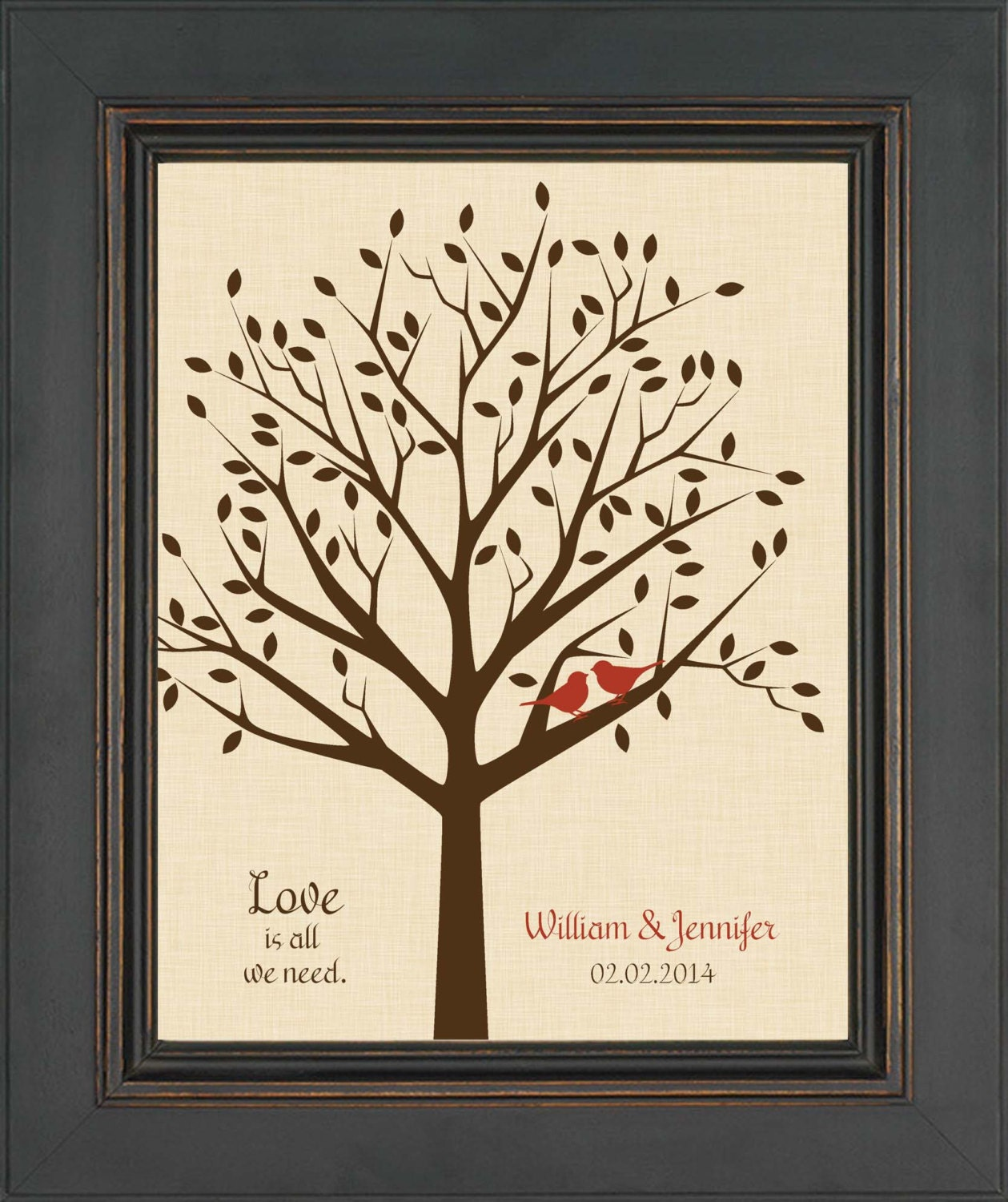 Wedding Gifts For Couples: Personalized Wedding Gift For Couple Valentine's Day