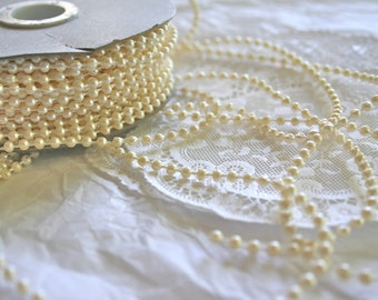 Bead String, 5 Colors, Strung Pearls