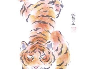 Chinese Zodiac Tiger 8x10 print