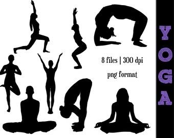 Yoga graphics | Etsy