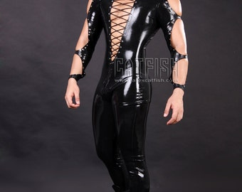 Best Man Gift / Orcustus  /  Sexy Cool&Tight Man Latex Clothing,Latex Catsuit