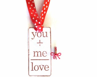 Valentine Tags, Valentine Gift Tags, Valentines Party Favor Tags, Valentine Handmade Tags, Hand Stamped Valentine Tags, February Trends,LOVE