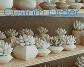 Custom Order for Adee
