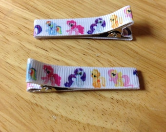 READY TO SHIP! My Little Pony Hair Clips