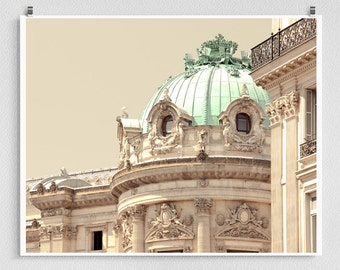 Paris photography - Paris,Opera house,Eastern facade - Paris photo,Art,Fine art photography,Paris home decor,8x10 wall art,white,Paris decor