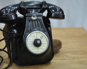Vintage Rotary Telephone , vintage decoration