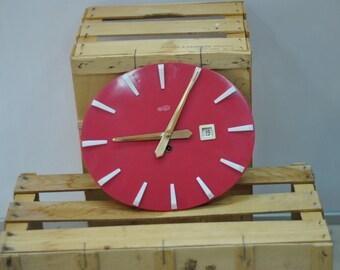 Vintage WALL clock retro pattern ...