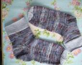 Grau-Blaue Socken Gr. 40/43  Unisex