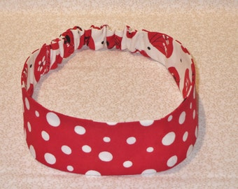 Girls Headband, reversible, handmade, different options