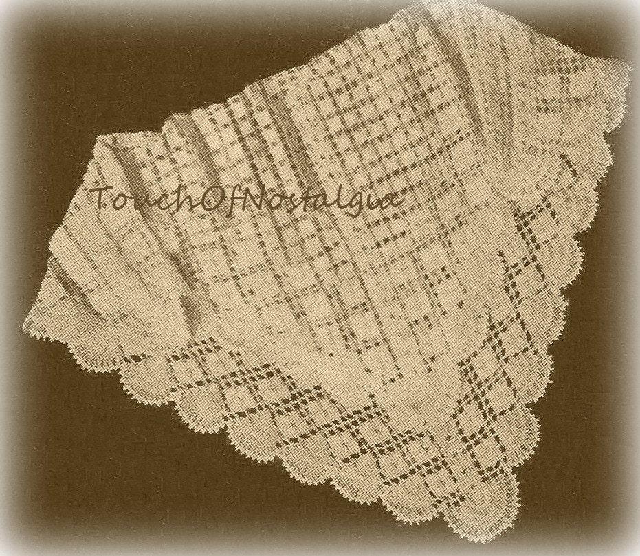 Crochet Baby Blanket Lace Pattern : CROCHET Lacy Baby SHAWL / Blanket Pattern Lacy Special