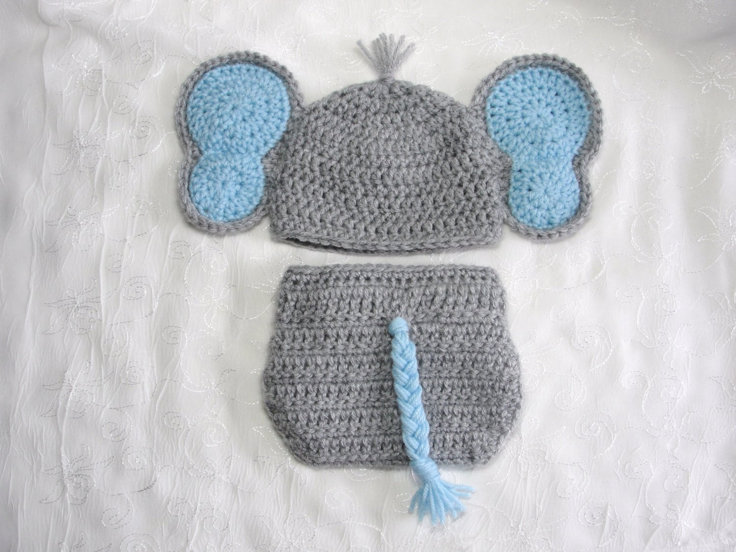 Crochet Pattern For Baby Elephant Hat : free crochet elephant hat and diaper cover pattern Car Tuning