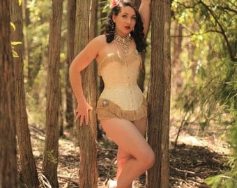 Ol' Time Silk corset