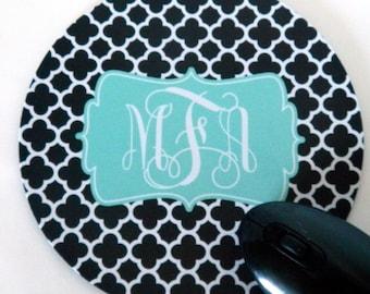 Personalized Mousepad - Round | Monogram Mousepad