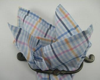 Cotton pocket square Dumont