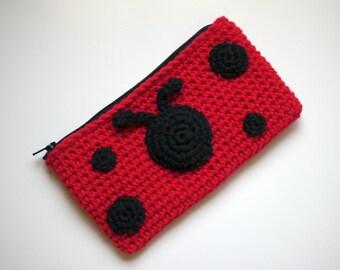 Ladybug Pencil Bag (AniBag)
