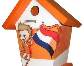 Dutch Soccer Fan Birdhouse