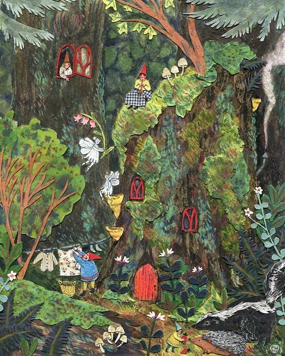 Gnome's Home print