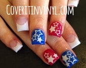 Stars Nail Decals - Set of 60