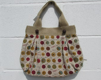 Fabric Project Bag 438